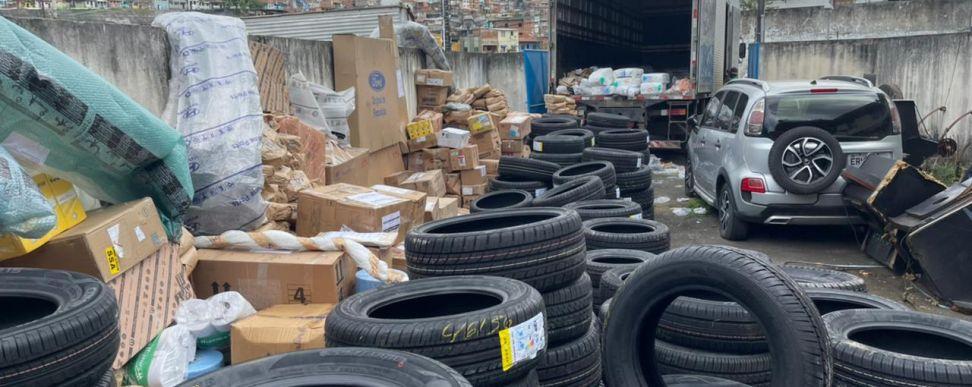 Carga avaliada R$ 1 milhão é recuperada pela DRFR em Salvador