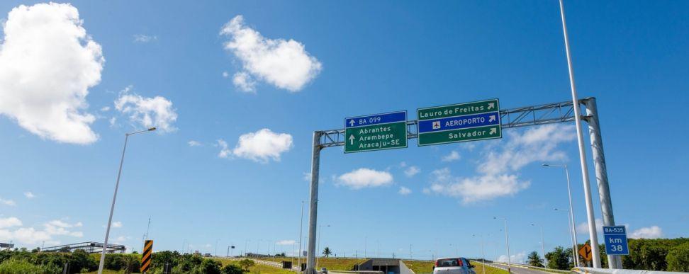 Bahia Norte realiza obras de manutenção no Sistema BA-093 até o dia 26 de setembro
