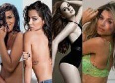 Além de Anitta, Marquezine, Grazi, Marina Ruy Barbosa e Paolla Oliveira estão na lista das mais sexy
