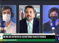 Fausto Franco afirma que não vai definir prazo para retorno de eventos na Bahia