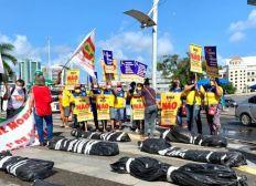 Movimentos sociais realizam ato simbólico em Salvador neste 1º de Maio