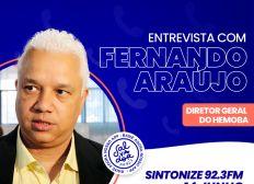 Ligação Direta recebe o diretor geral do Hemoba, Fernando Araújo nesta segunda-feira (14)