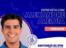 Ligação Direta recebe o vereador Alexandre Aleluia nesta sexta-feira (18)