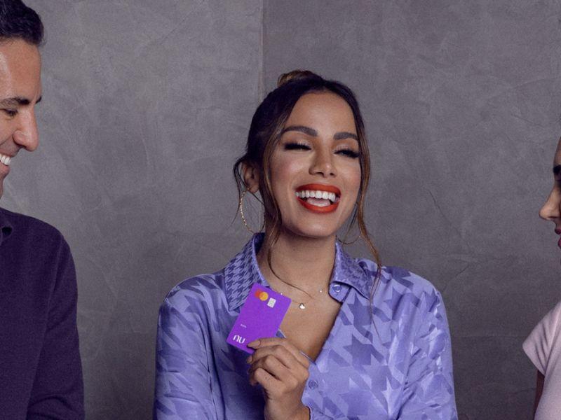 Anitta é a nova membro do conselho do Nubank