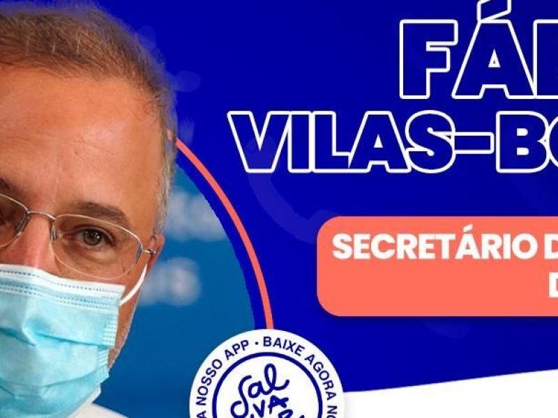 Ligação Direta recebe o secretário da saúde Fábio Vilas-Boas nesta sexta-feira (11)