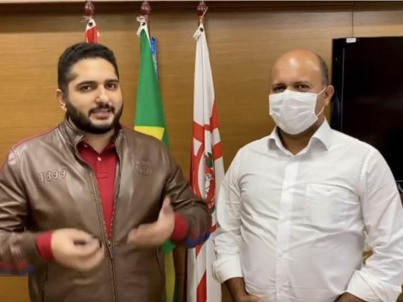 Vereador baiano debate projetos sociais e políticas para o esporte com gestores de São Paulo