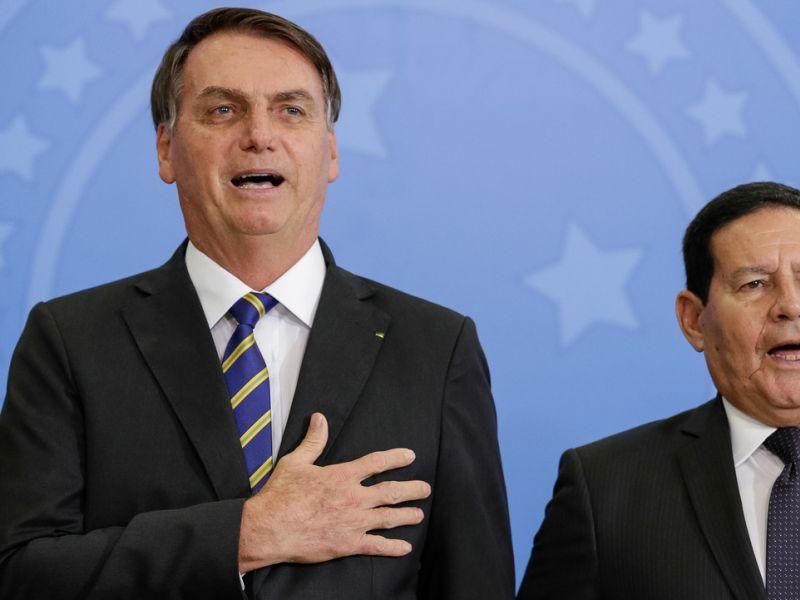 Partido de Mourão demonstra interesse em filiar Jair Bolsonaro