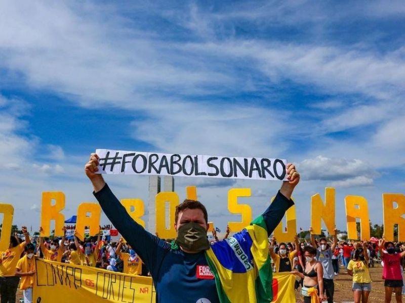 Organizadores afirmam que atos contra Bolsonaro ganharam forças após ameaça de Braga Netto