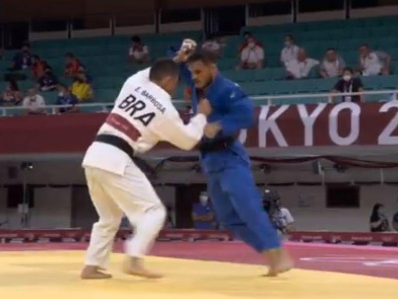 Olimpíadas: após bronze, Eduardo Barbosa do judô é eliminado dos jogos