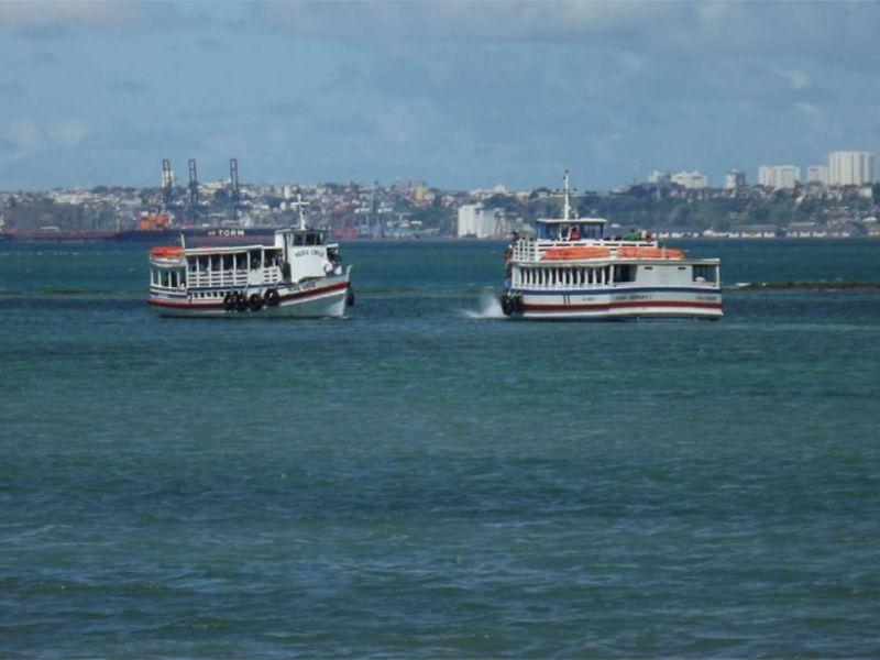 Após suspensão por causa do mau tempo, travessia Salvador-Mar Grande retoma operações