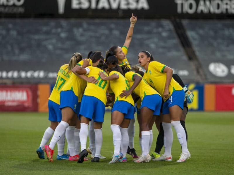 Brasil vence Zâmbia e avança para as quartas de finais contra o Canadá