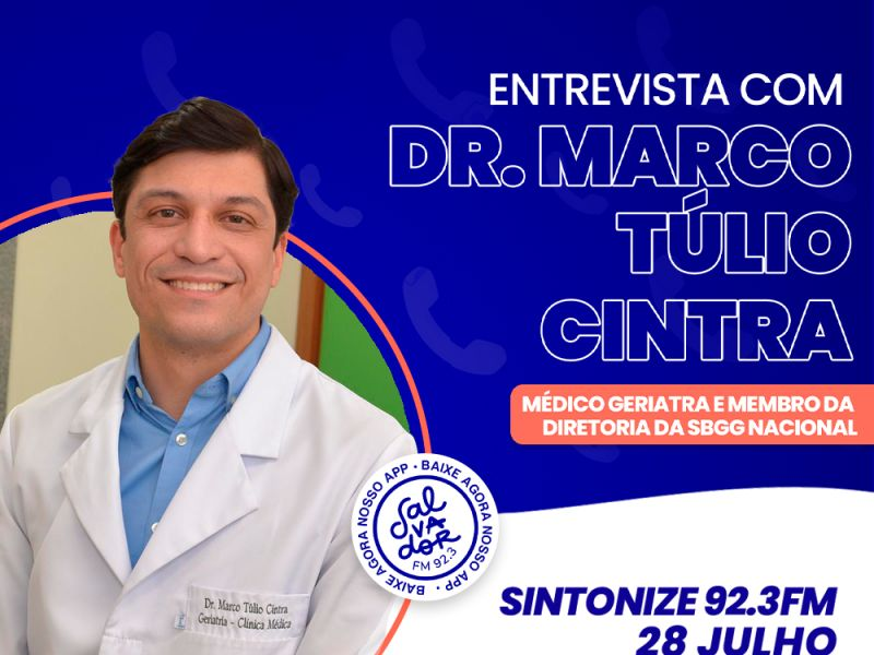 Ligação Direta recebe o Dr. Marco Túlio Cintra nesta quarta-feira (28)