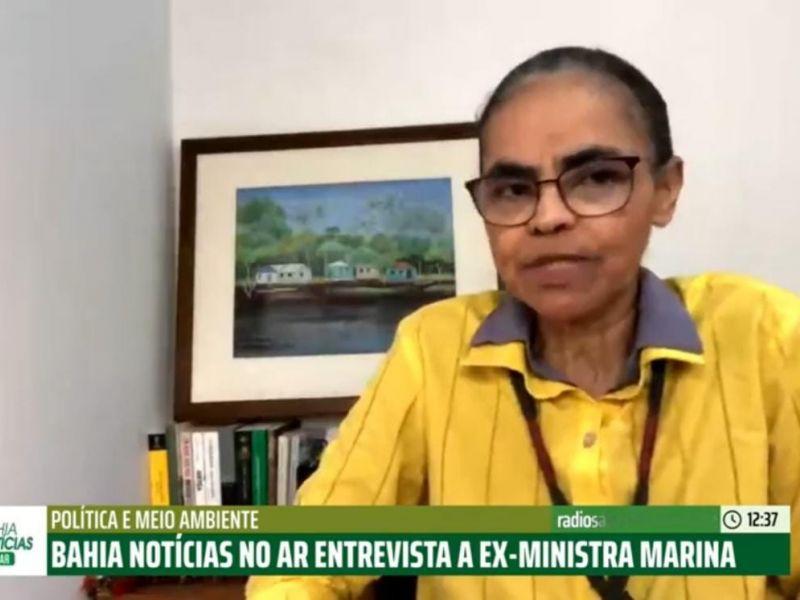 """""""Todas as questões que aconteceram ligadas a pasta ambiental são preocupantes"""", dispara Marina"""