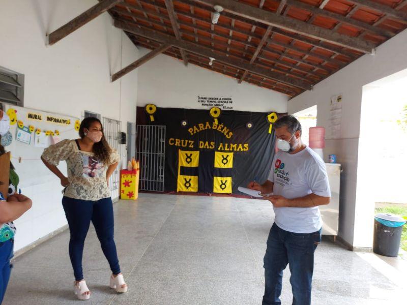 MP inspeciona escolas e encontra irregularidades