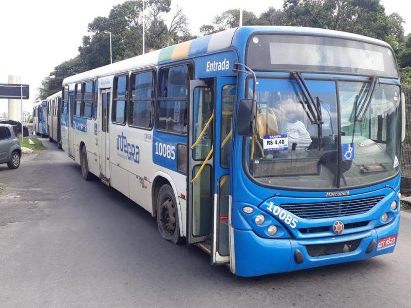 Após manifestação dos rodoviários, Semob identifica responsáveis por atos de vandalismo