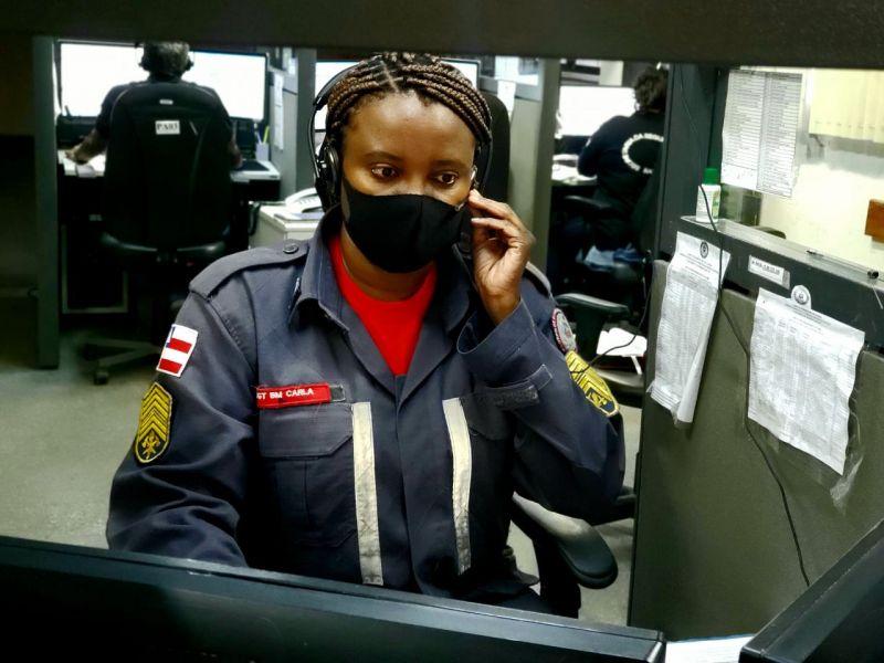 Sargento do 8° GBM salva bebê de 10 dias de vida com orientações por telefone