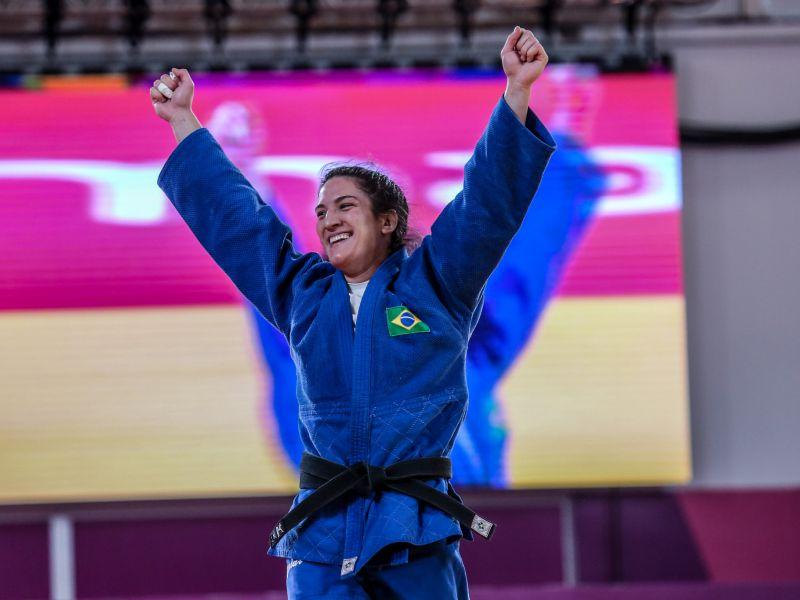 Judoca brasileira faz história e leva bronze nas Olimpíadas de Tóquio