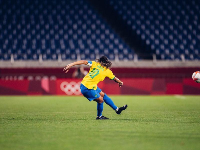 Nos pênaltis, Brasil é eliminadoe fica sem medalha no futebol feminino