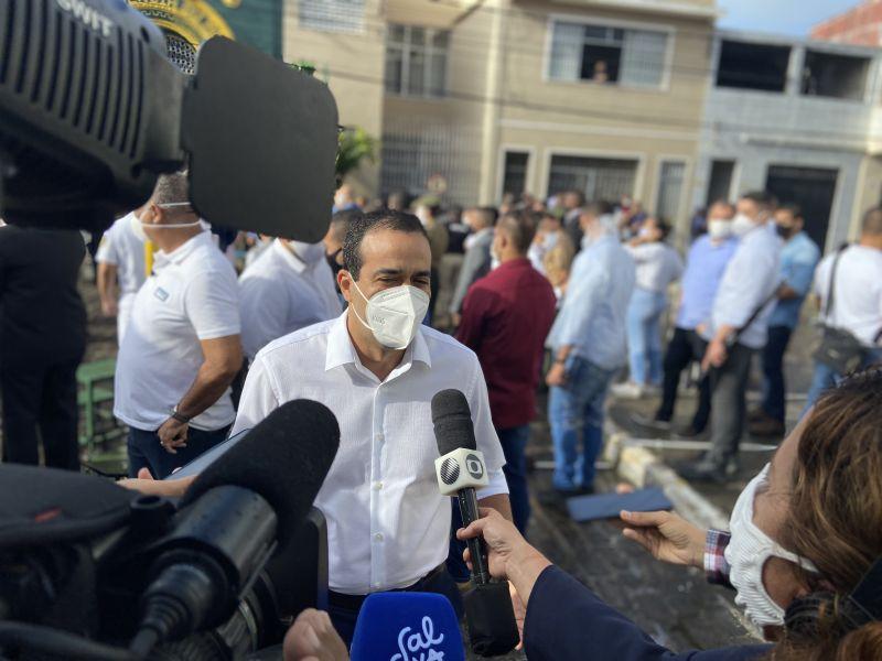 Após repercussão do vídeo de homem que recusa vacina, Bruno Reis diz que prefeitura não prevê punição