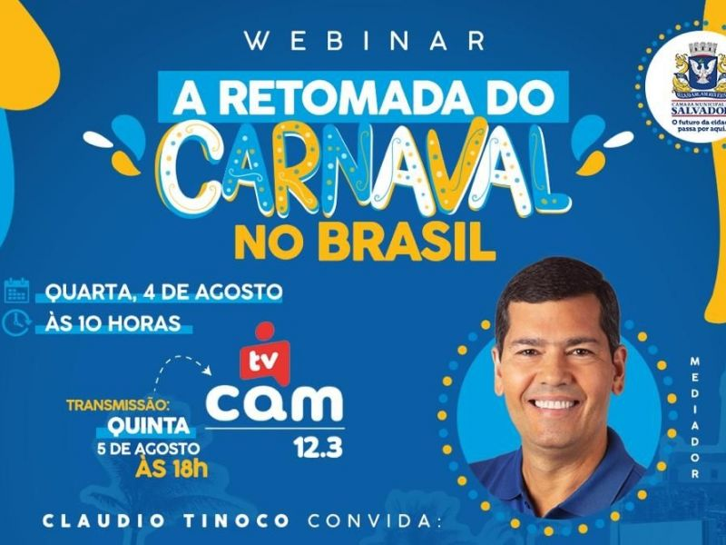 Câmara de Salvador debate retomada do Carnaval no pós-pandemia