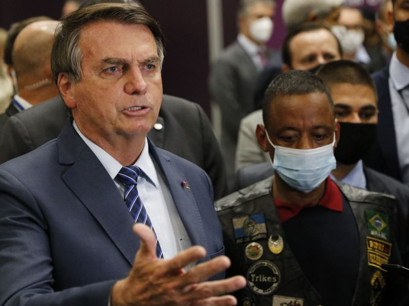 Nas redes sociais, presidente Jair Bolsonaro elogia atletas olímpicos