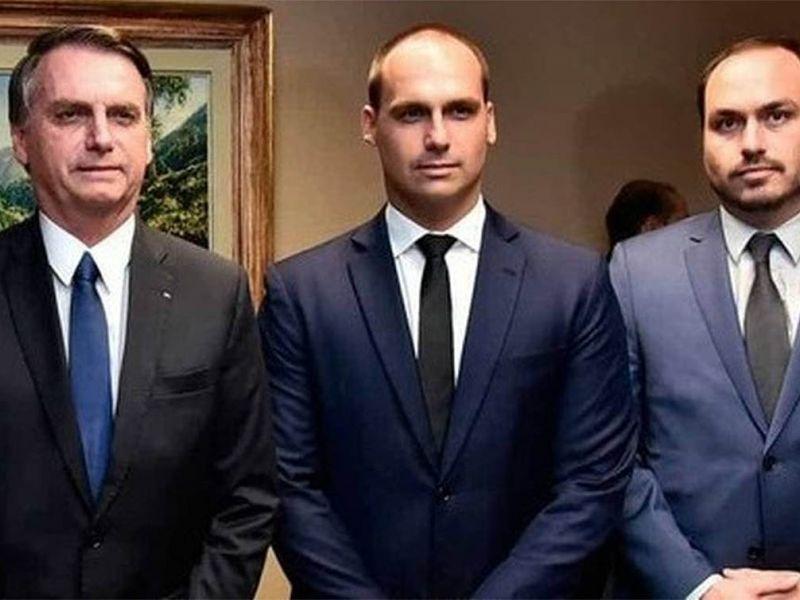 Governo impõe sigilo de cem anos sobre acesso de Carlos e Eduardo Bolsonaro ao Planalto