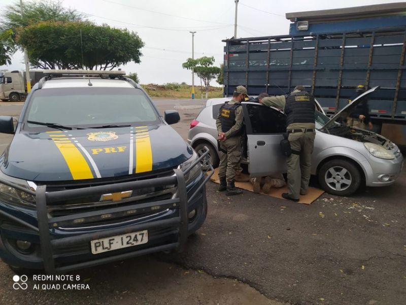 Carro furtado em Feira de Santana é recuperado na Chapada Diamantina