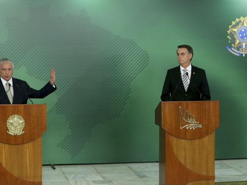 """""""Absolutamente inútil e inconstitucional"""", diz Temer sobre ataques de Bolsonaro ao STF"""