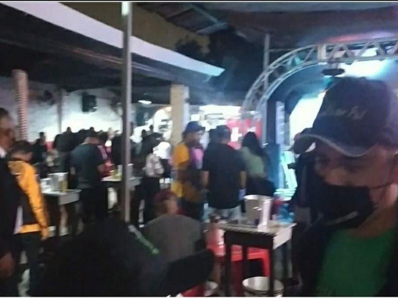 Cerca de 300 pessoas são dispersadas por fiscalização em festas em Feira de Santana