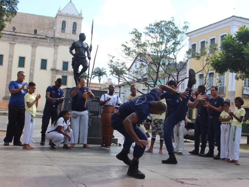 Em homenagem ao Dia do Capoeirista Guarda Civil promove roda de capoeira nesta terça (3)