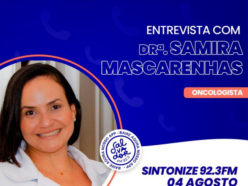 Ligação Direta recebe a Dra. Samira Mascarenhas nesta quarta-feira (4)