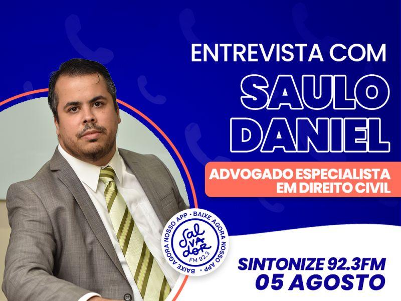 Ligação Direta recebe o advogado especialista em Direito Civil, Saulo Daniel nesta quinta-feira (5)