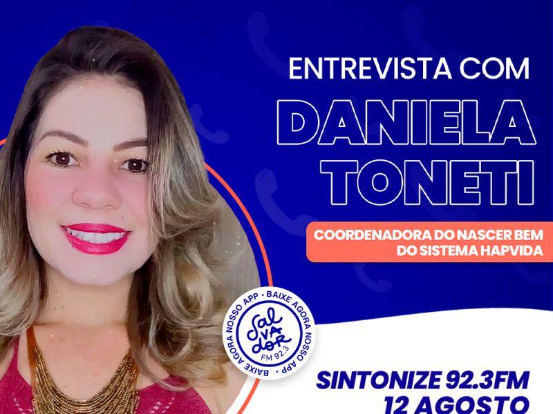 Ligação Direta recebe Daniela Toneti, coordenadora do programa Nascer Bem, do Sistema Hapvida nesta quinta-feira (12)