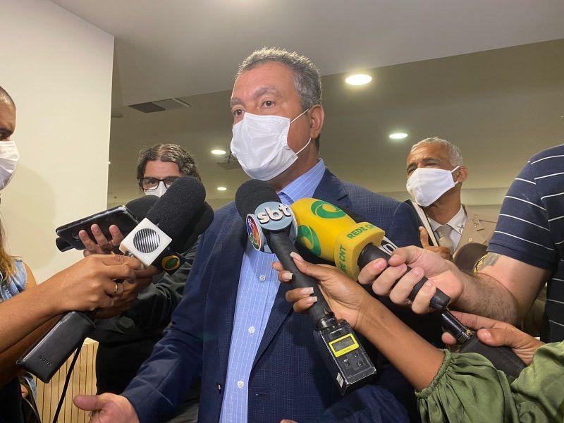 Rui Costa presta solidariedade à família de tenente morto em Cosme de Farias
