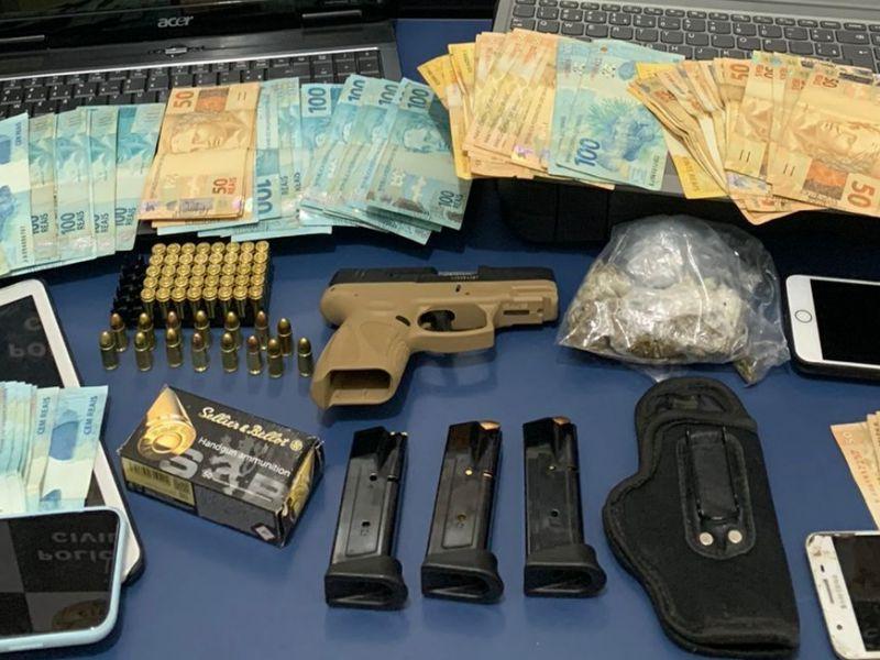 Suspeito de tráfico, lavagem de dinheiro e fraudes bancárias é preso em Vitória da Conquista