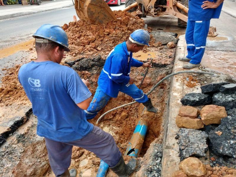 Embasa interrompe temporariamente abastecimento de água neste final de semana em bairros de Salvador