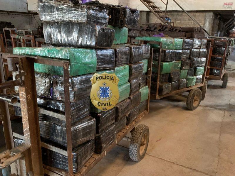 2,7 toneladas de maconha são incineradas em Vitória da Conquista