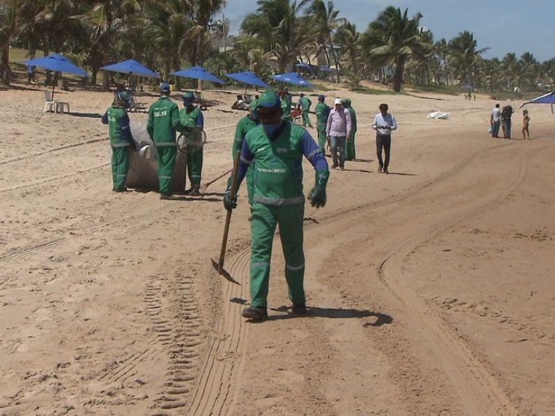 Praias recebem ações especiais pelo Dia Mundial da Limpeza neste sábado (18)