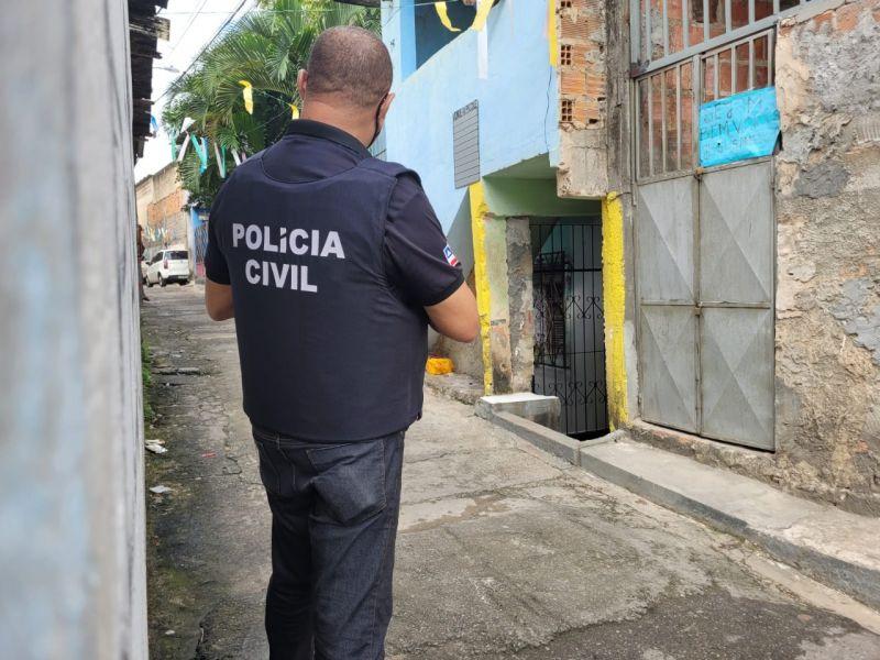 Suspeito de agressão é preso em flagrante em Dias D'Ávila