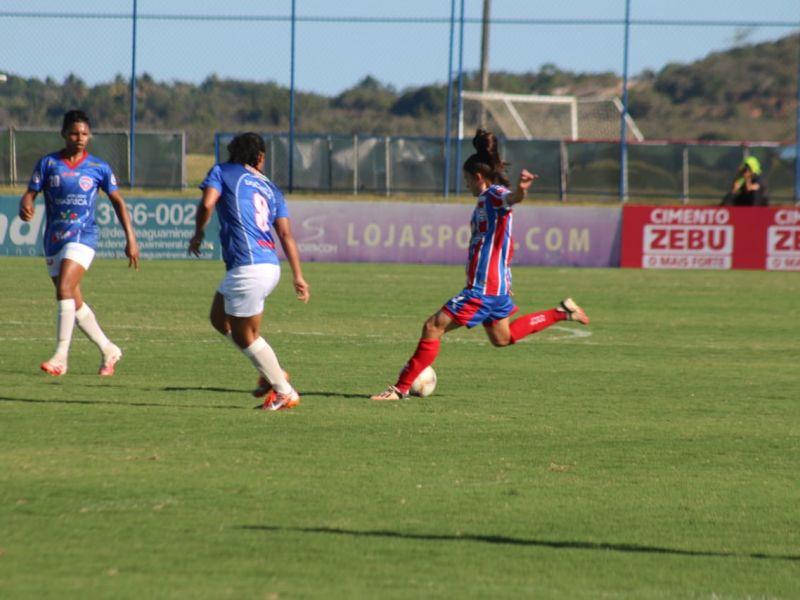 Baiano feminino: Bahia empata com Doce Mel e pega o Juventude na semifinal