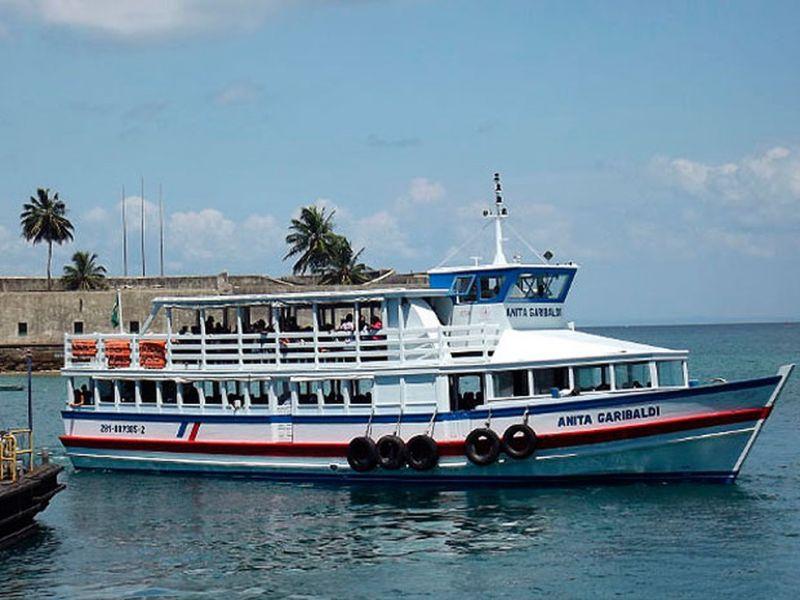 Travessia Salvador-Mar Grande está suspensa nesta segunda (20) devido a maré baixa