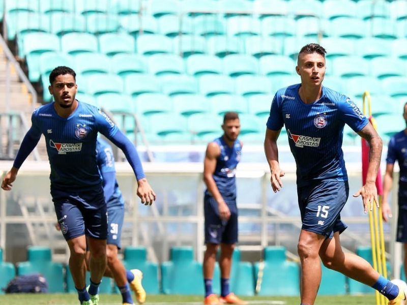 Bahia terá sequência de cinco treinamentos para jogo contra o Inter