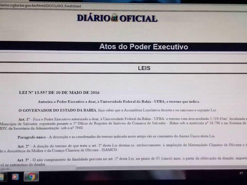 Diário Oficial da Bahia só terá veiculação na versão digital a partir desta terça
