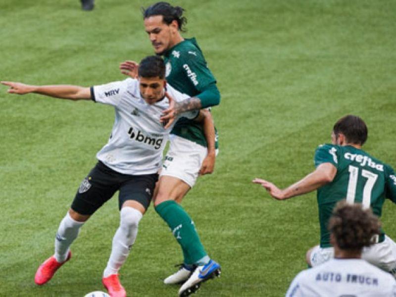 Libertadores: Palmeiras e Atlético-MG disputam vaga na final