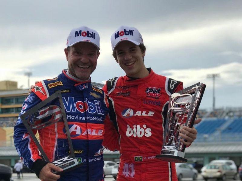 'Ele não conquistou metade do que meu pai conquistou', diz filho de Barrichello sobre Sainz