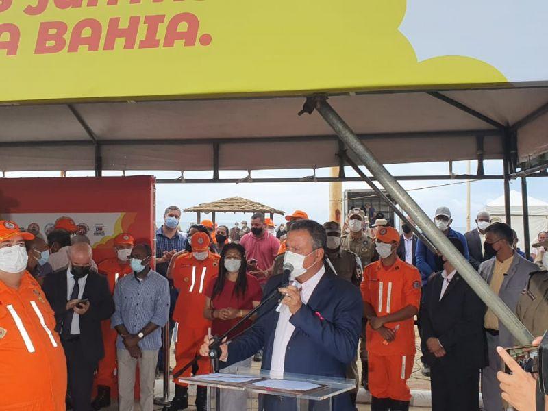 Rui Costa sai pela tangente quando questionado sobre gestão de Mandarino na SSP