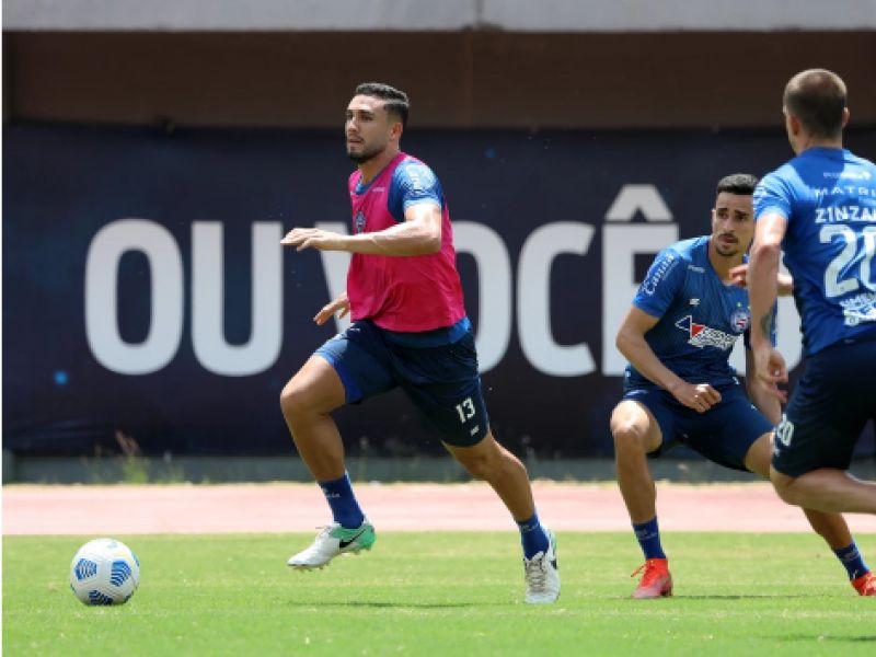 Bahia segue preparação para enfrentar América-MG