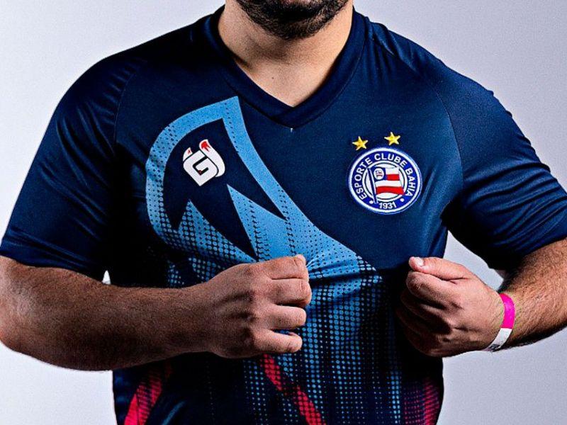 Bahia anuncia camisa para o time de esportes eletrônicos