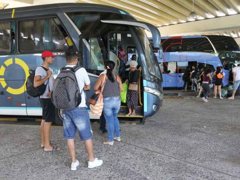 Vendas de passagens de ônibus podem crescer 55% neste ano, no Brasil