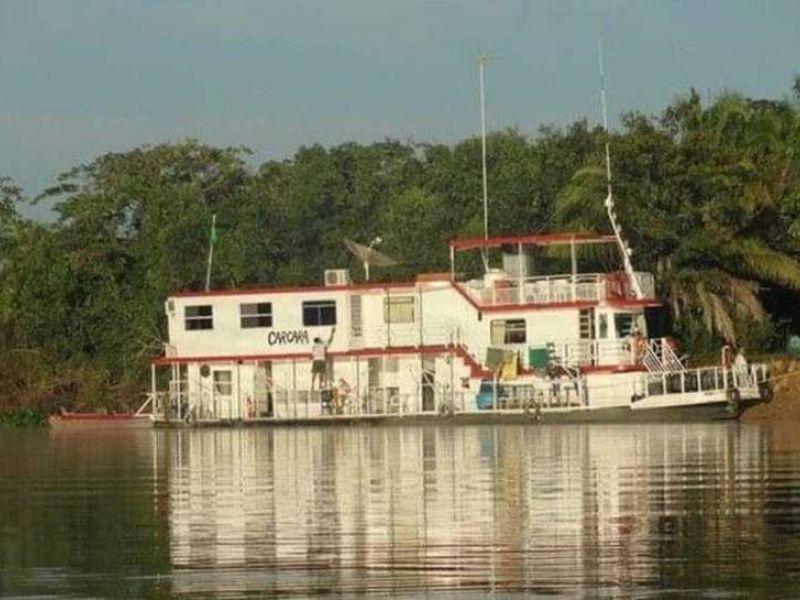 Seis pessoas morrem em naufrágio de barco-hotel no Pantanal